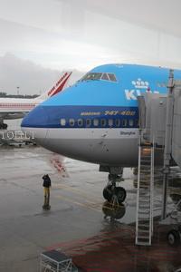 "KLM spalvomis paženklintas ""Boeing 747-400"""