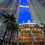 """""""Petronas Towers"""" bokštai Kuala Lumpūre, Malaizijoje"""