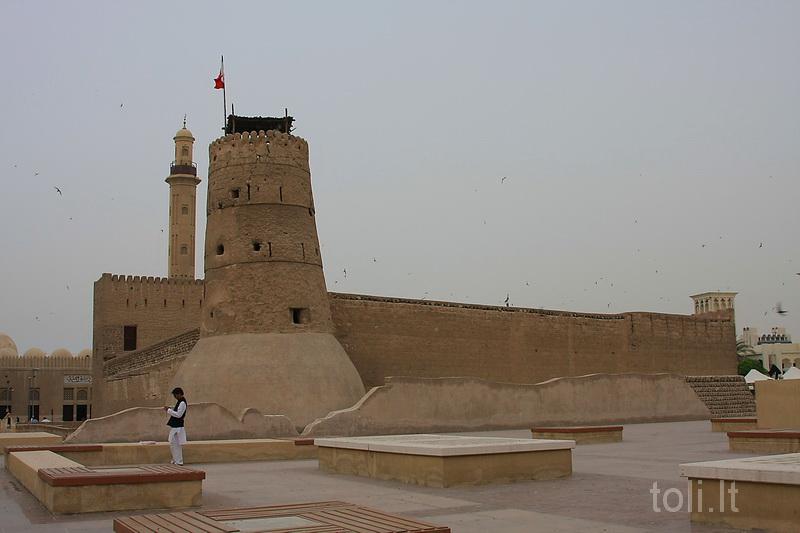 Buvusiame forte įkurtas Dubajaus muziejus